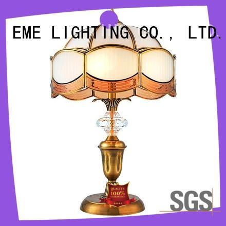 retro elegant table lamp concise for restaurant