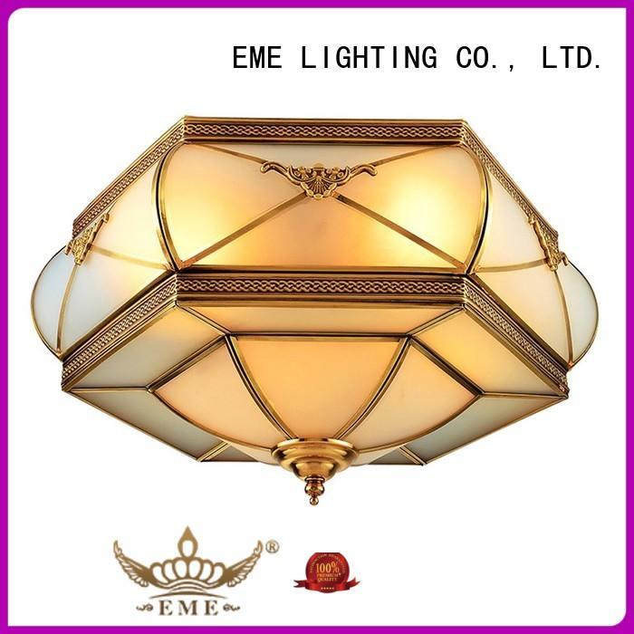 brass led bedroom brass ceiling lights custom EME LIGHTING