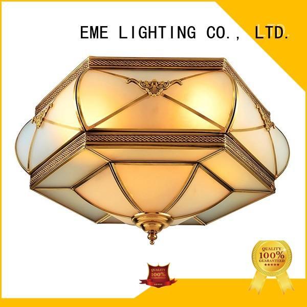 modern Custom lamp brass ceiling lights round EME LIGHTING