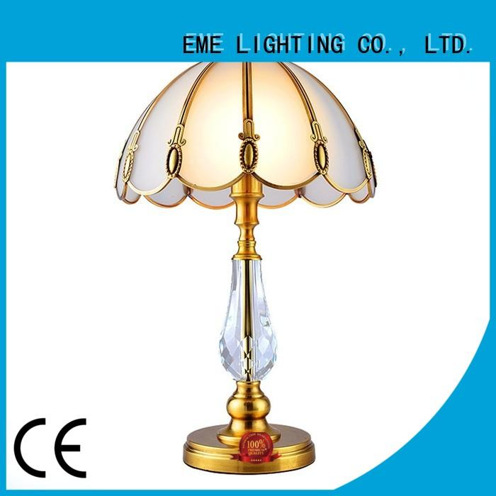 unique contemporary chrome and glass table lamps EME american EME LIGHTING Brand