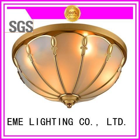 Wholesale copper brass ceiling lights EME LIGHTING Brand