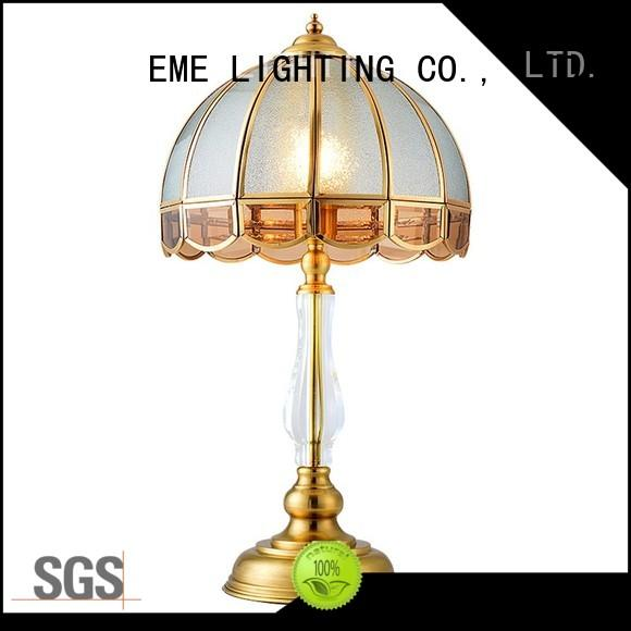 chrome and glass table lamps light brass EME LIGHTING Brand western table lamps