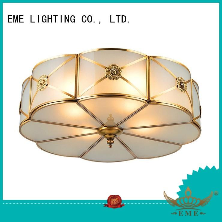 brass led brass ceiling lights lamp EME LIGHTING Brand company