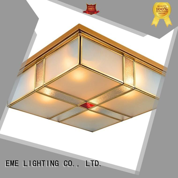 dining round brass brass ceiling lights restaurant EME LIGHTING