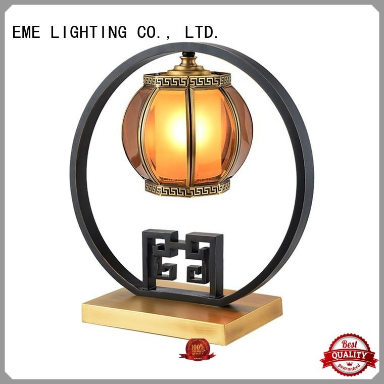 decorative table hotel chinese style table lamp EME LIGHTING manufacture