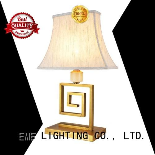 EME LIGHTING Brand traditional table hotels chinese style table lamp antique