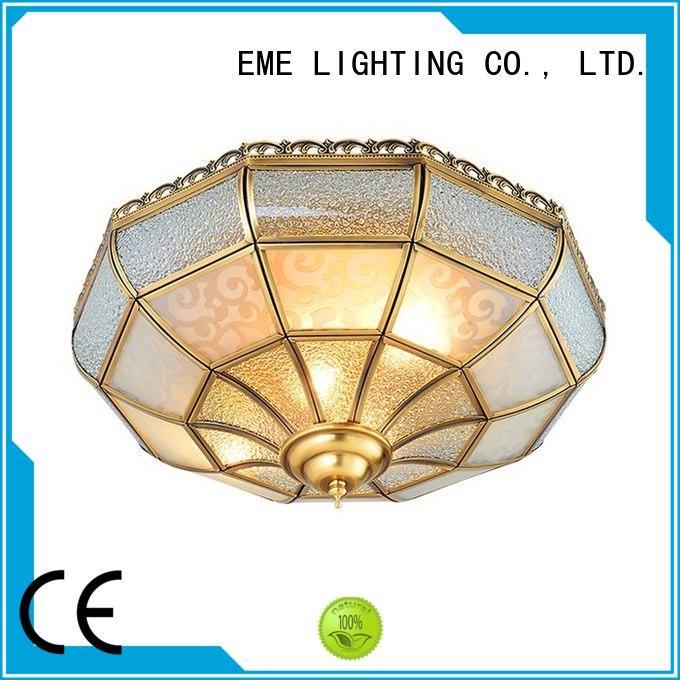 bedroom circle brass ceiling lights online EME LIGHTING Brand