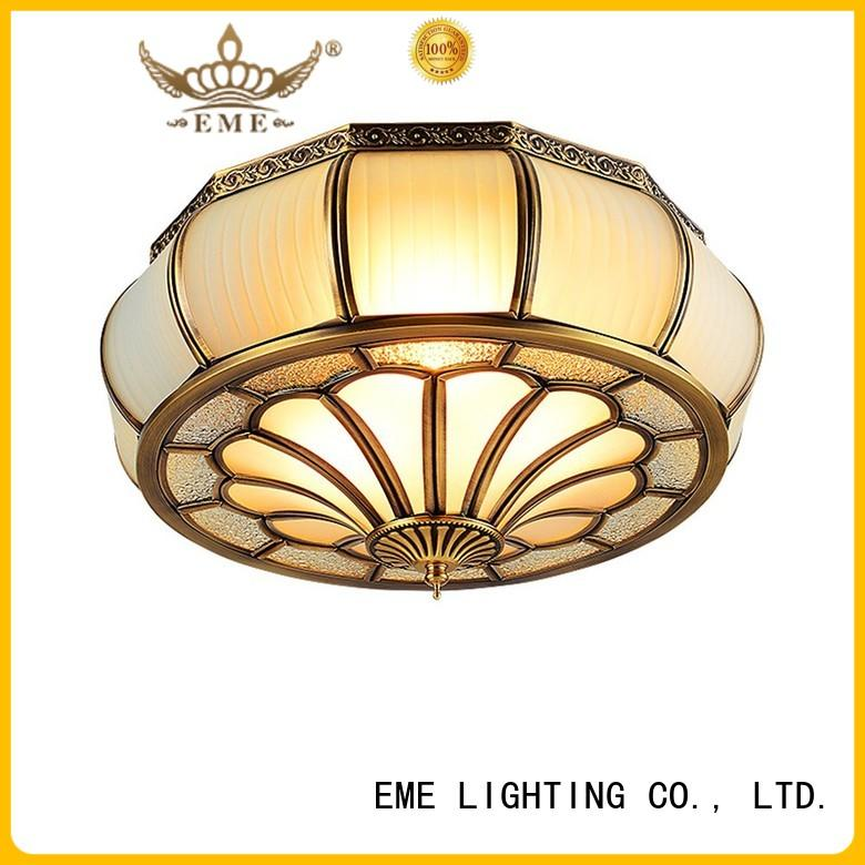circle home lamp brass ceiling lights EME LIGHTING Brand