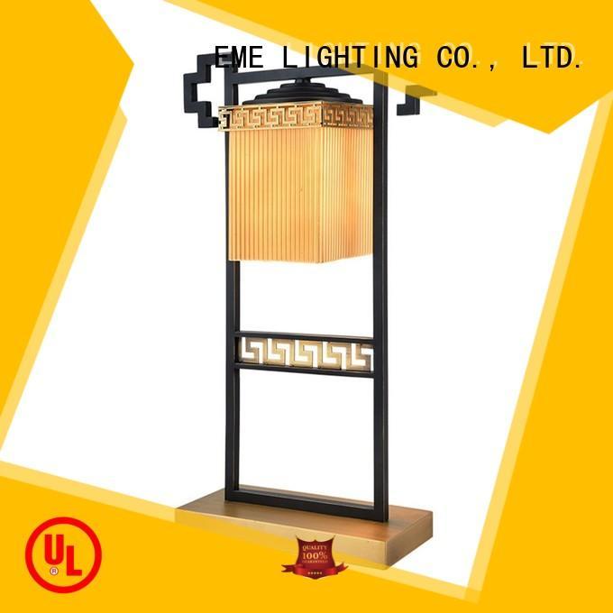 EME LIGHTING Brand wood lamp bedroom oriental table lamps manufacture