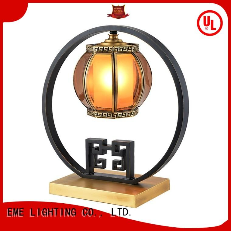 table antique wood oriental table lamps gold EME LIGHTING Brand