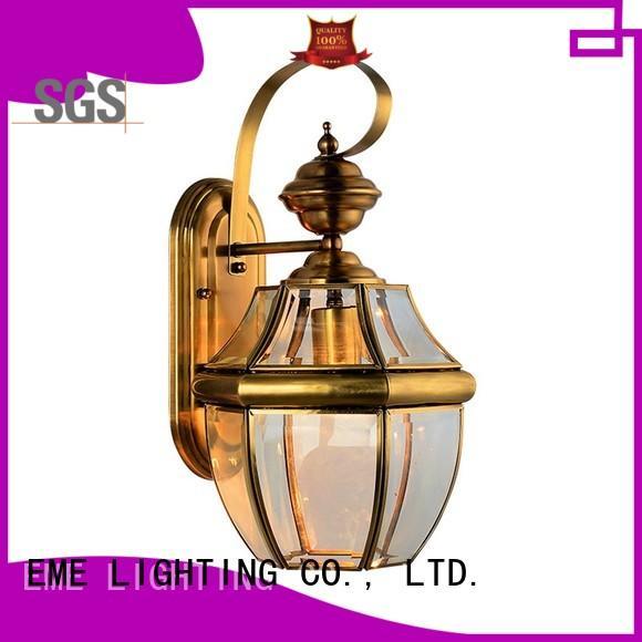 Custom design shade gold wall sconces EME LIGHTING unique