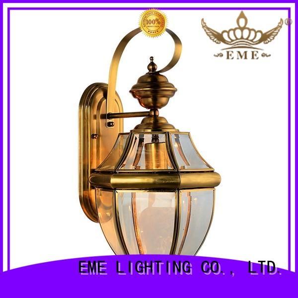 european custom decorative traditional EME LIGHTING Brand gold wall sconces supplier