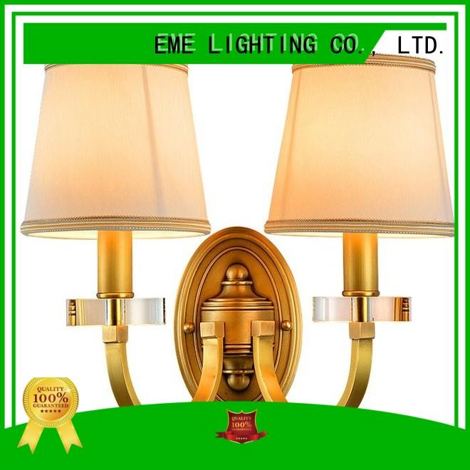 Quality EME LIGHTING Brand hotels gold wall sconces