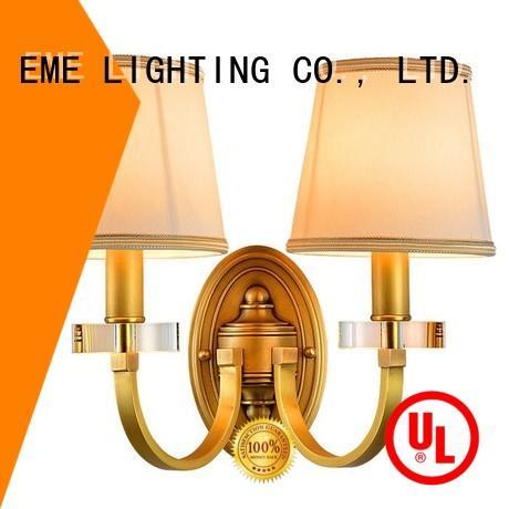 Hot dining room wall sconces brass EME LIGHTING Brand