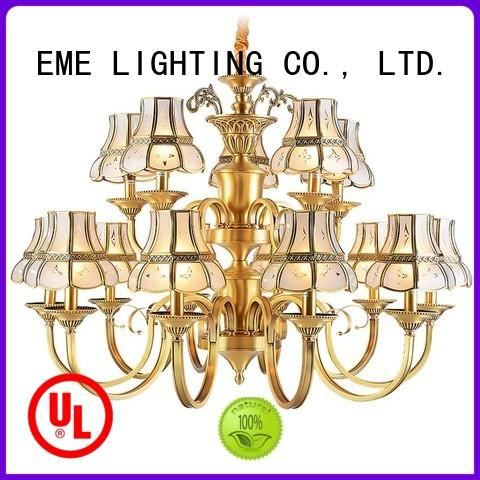 led Custom chandeliers antique antique brass chandelier EME LIGHTING chandelier