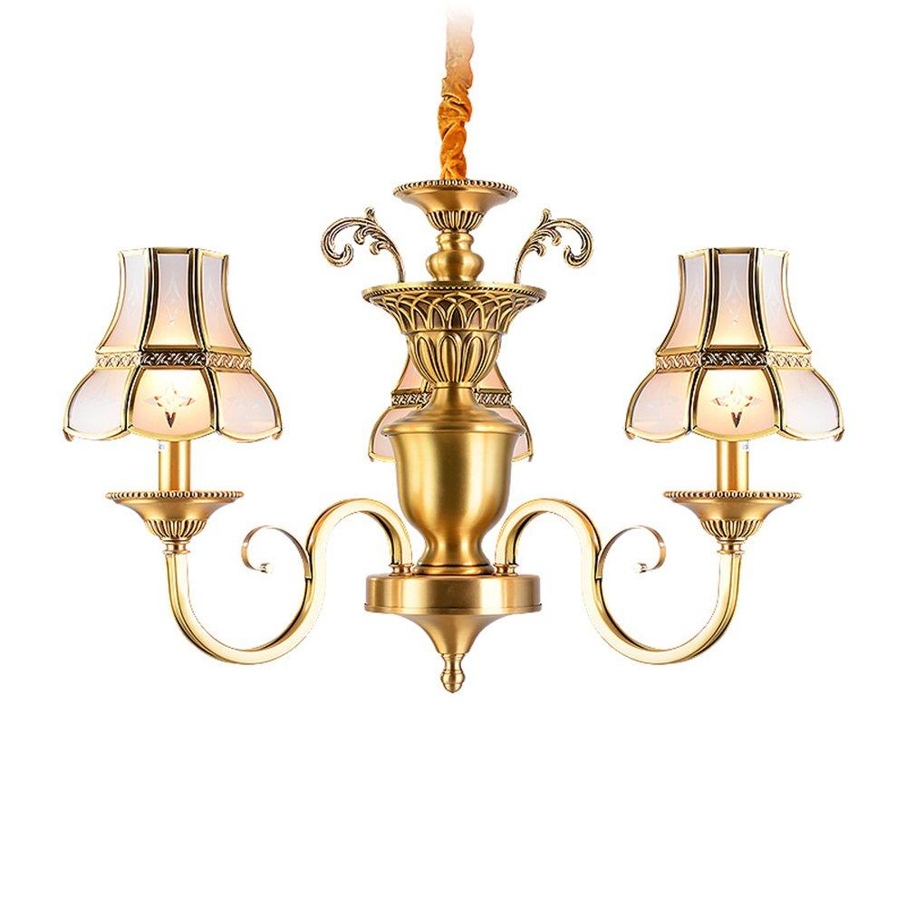 EME LIGHTING Elegant Chandelier (EAD-14010-3) Brass Chandelier image109