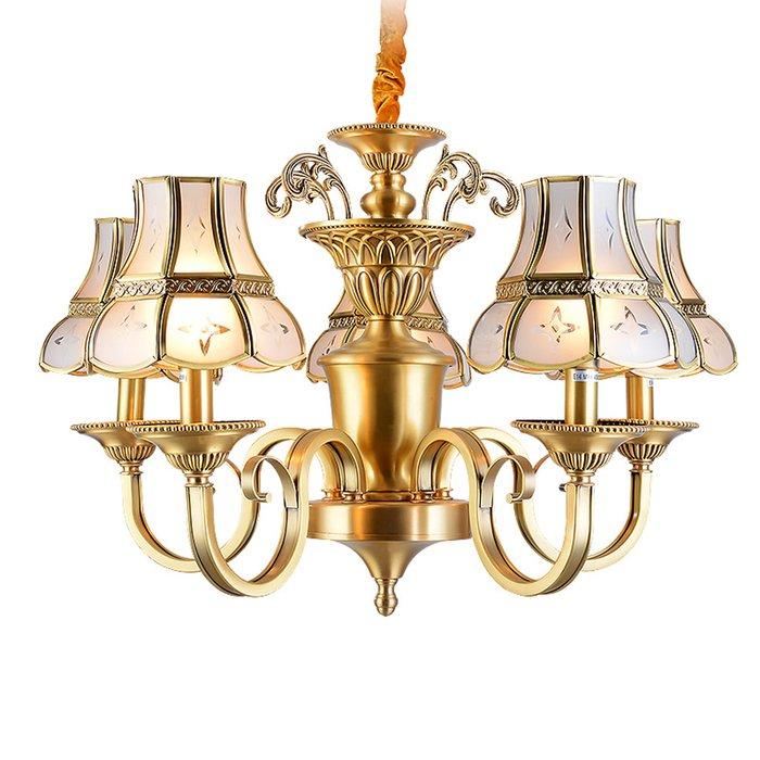 EME LIGHTING Dining Room Lights (EAD-14010-5) Brass Chandelier image108
