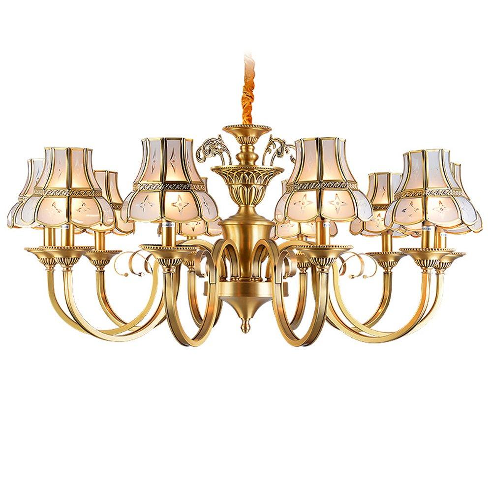 EME LIGHTING Hanging Chandelier (EAD-14010-10) Brass Chandelier image105
