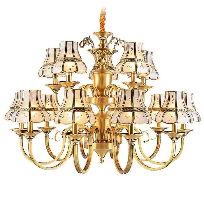 EME LIGHTING Hotel Luxury Chandeliers (EAD-14010-10+5) Brass Chandelier image104