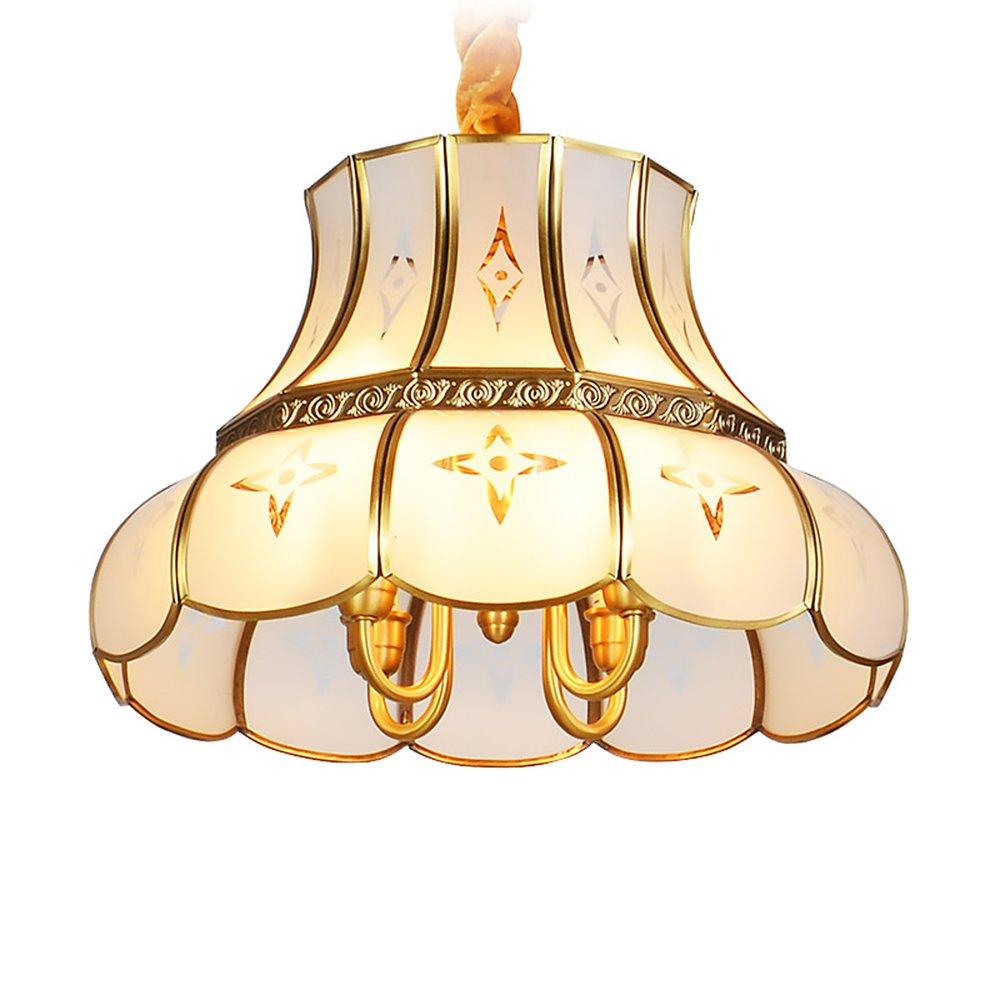 EME LIGHTING Glass Pendant Light (EAD-14010-3D) Brass Chandelier image98