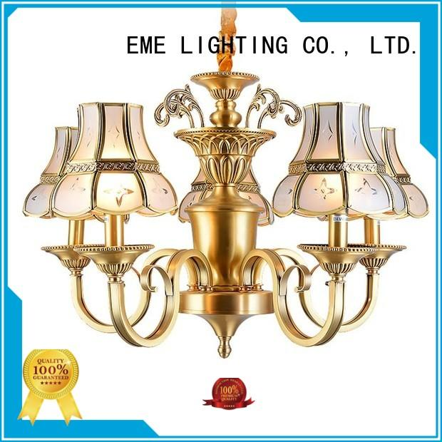 Hot unique antique brass chandelier elegant vintage EME LIGHTING Brand