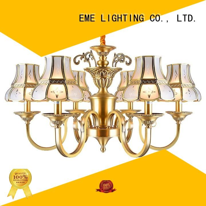 round chinese decorative chandeliers restaurant style EME LIGHTING Brand