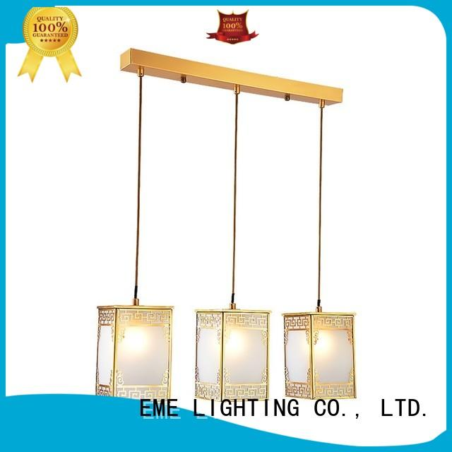 Wholesale hanging brass ceiling lights EME LIGHTING Brand