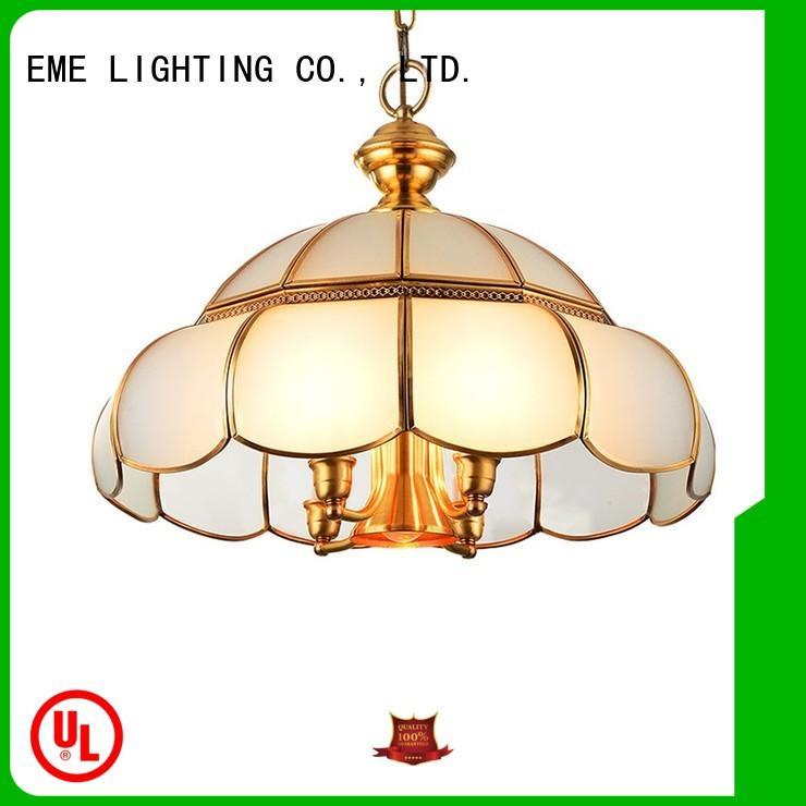 cylinder home light EME LIGHTING Brand antique brass chandelier