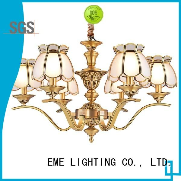 EME LIGHTING Brand luxury glass decorative chandeliers pendant supplier