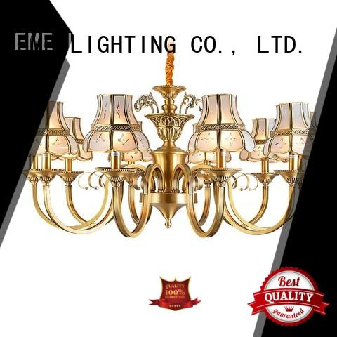 decorative chandeliers dining room decorative glass EME LIGHTING Brand company