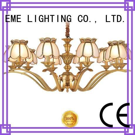 murano EME copper EME LIGHTING Brand antique brass chandelier