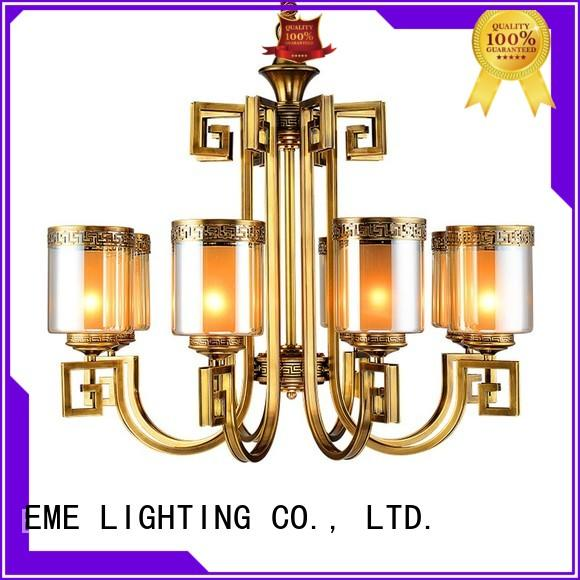 led vintage EME LIGHTING Brand decorative chandeliers factory