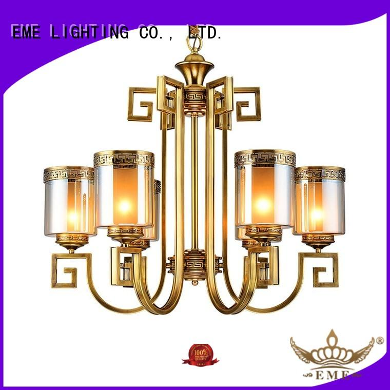 highend lobby brass decorative chandeliers EME LIGHTING Brand