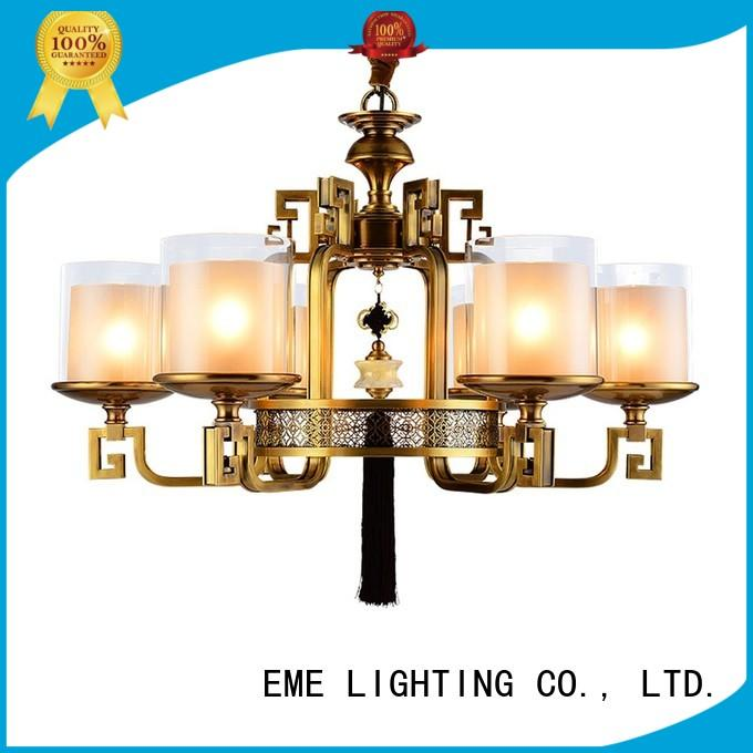 Hot antique brass chandelier highend EME LIGHTING Brand