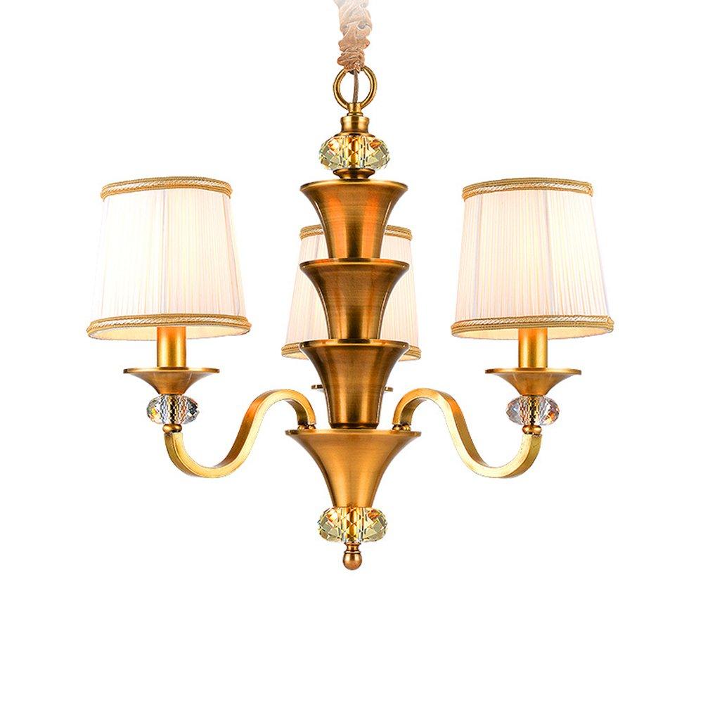 EME LIGHTING Hanging Chandelier (EYB-14205-3) Brass Chandelier image88