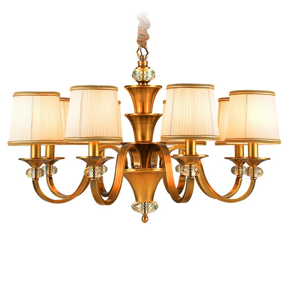 EME LIGHTING Residential Lighting (EYD-14205-8) Brass Chandelier image86