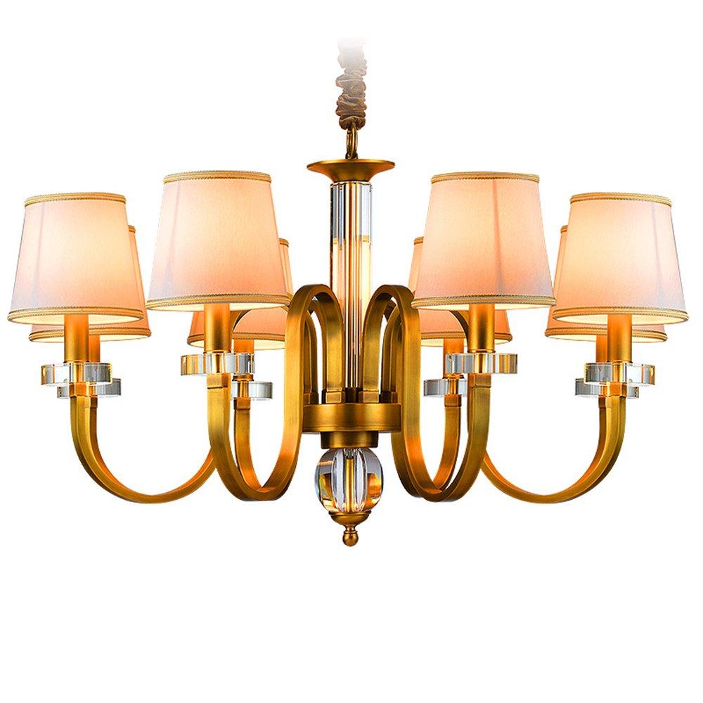 EME LIGHTING Dining Room Chandelier (EYD-14207-8) Brass Chandelier image83