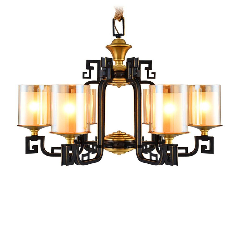 EME LIGHTING Vintage Chandelier (EYD-14214-6) Brass Chandelier image74