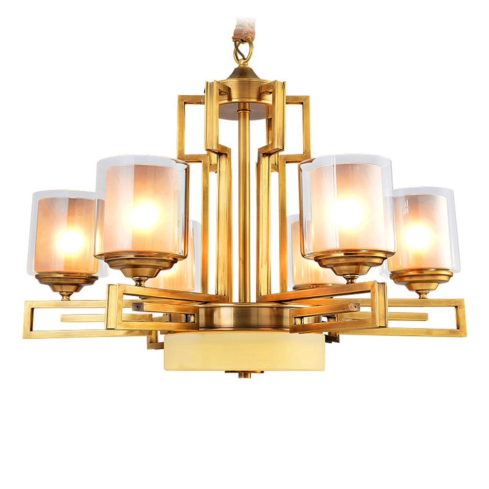 EME LIGHTING Home Decorative Chandelier (EYD-14215-6) Brass Chandelier image70