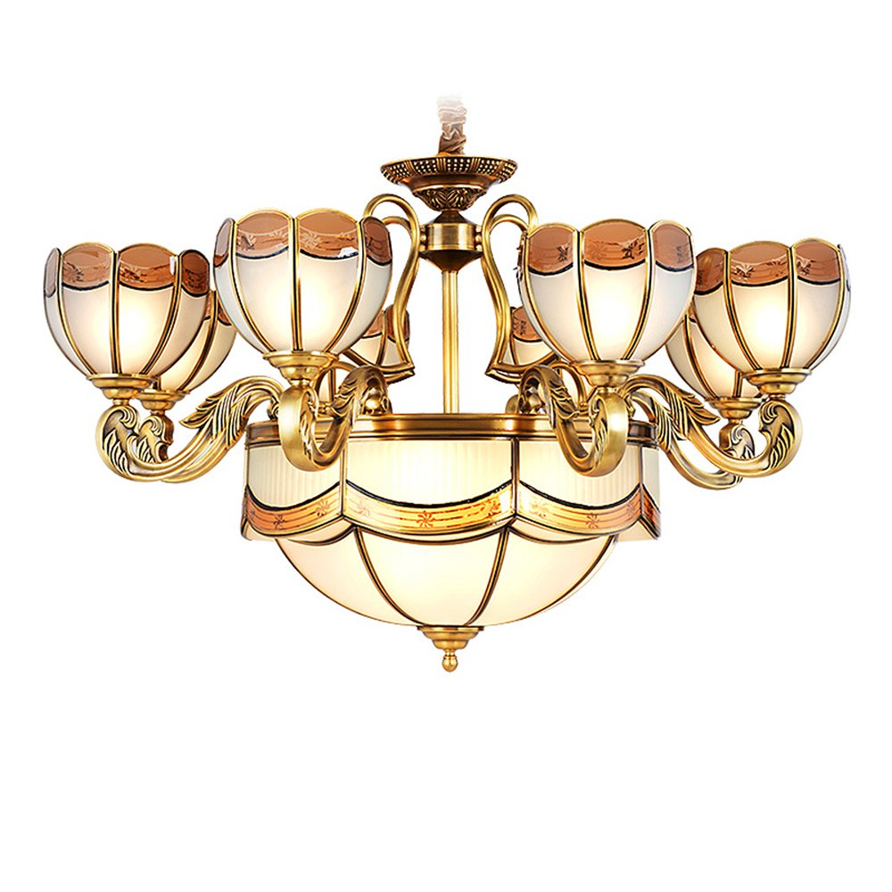 EME LIGHTING Dinging Room Hanging Chandelier (EYD-14221-8) Brass Chandelier image65