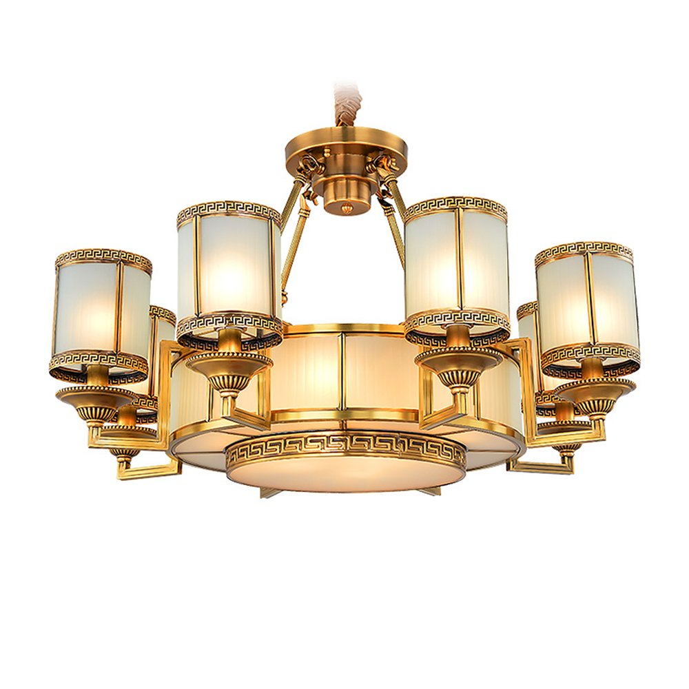 EME LIGHTING Traditional Chandelier Lighting (EYD-14222-8) Brass Chandelier image63