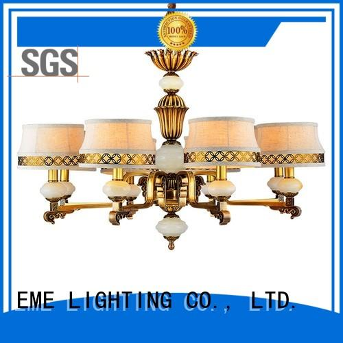european antique brass chandelier lighting EME LIGHTING company