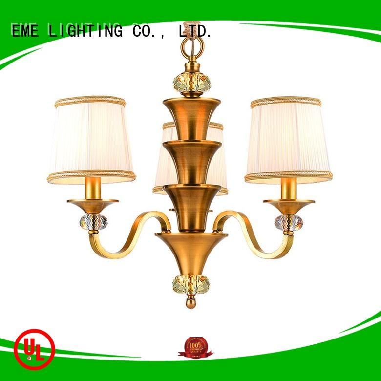 EME LIGHTING Brand light decorative chandeliers dinging supplier