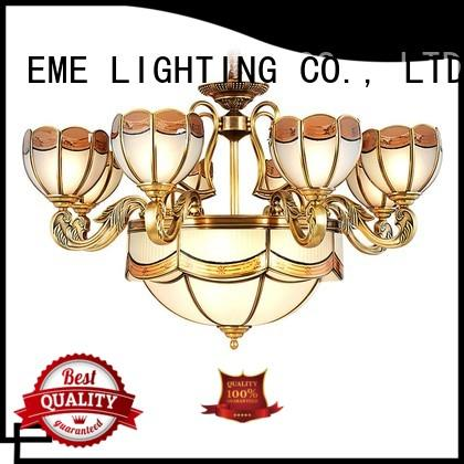 decorative chandeliers chandelier country EME LIGHTING Brand antique brass chandelier
