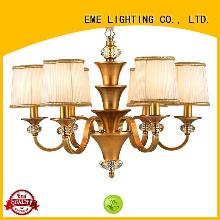decorative chandeliers glass country antique brass chandelier EME LIGHTING Brand