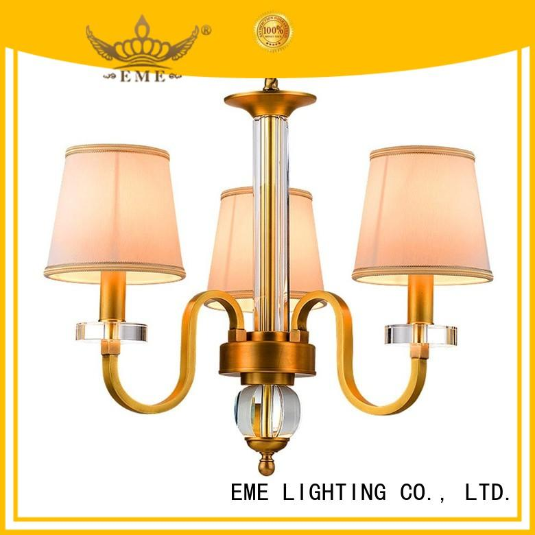 Wholesale contemporary round antique brass chandelier EME LIGHTING Brand
