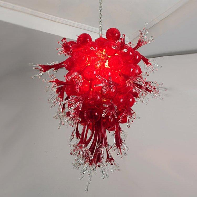 Red Coral Hanging Pendant Light (MD336-coral)