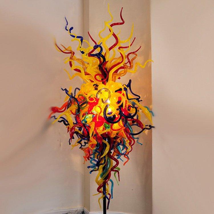 EME LIGHTING Unique Colored Glass Floor Lamp (ML336-Floor Lamp) Ocean Series image55