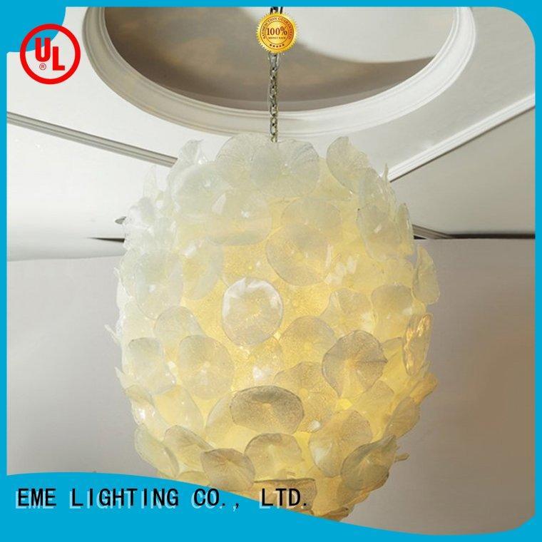 Hot copper and glass pendant light modern EME LIGHTING Brand