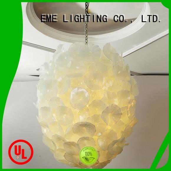 EME LIGHTING hanging restaurant pendant light pure white for hotel